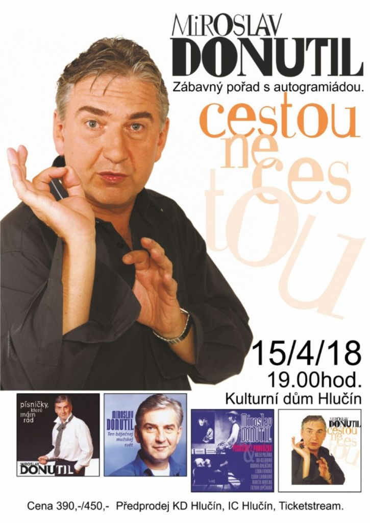 Miroslav Donutil - Cestou (ne)cestou 1