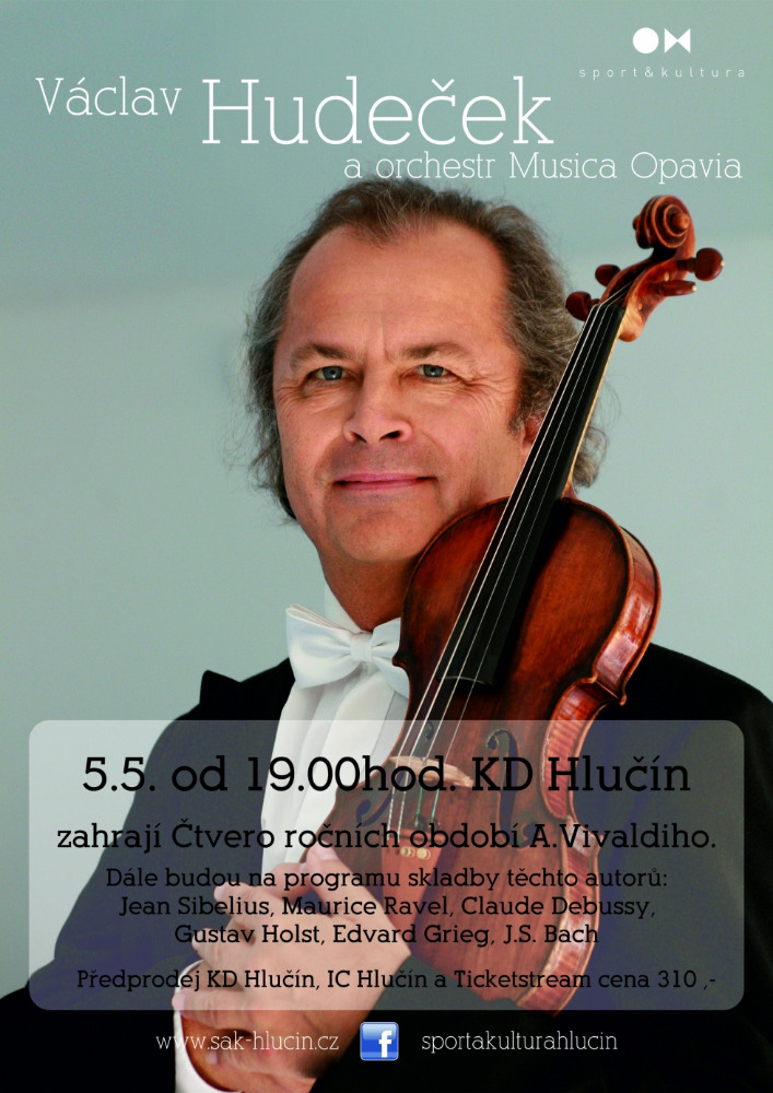 Václav Hudeček a orchestr Musica Opavia 1