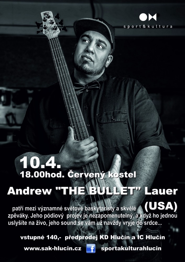 """Andrew """"THE BULLET"""" Lauer 1"""