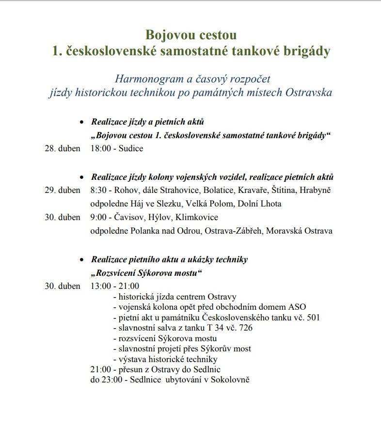Bojovou cestou 1. čs. samostatné tankové brigády 1