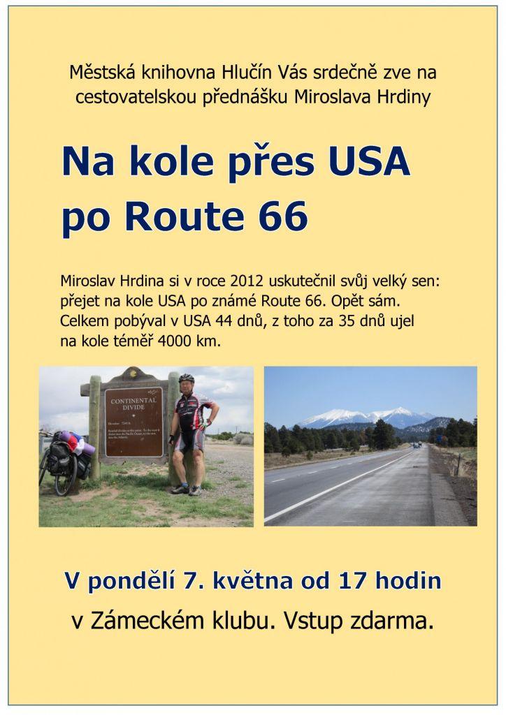 Na kole po USA přes Route 66 1