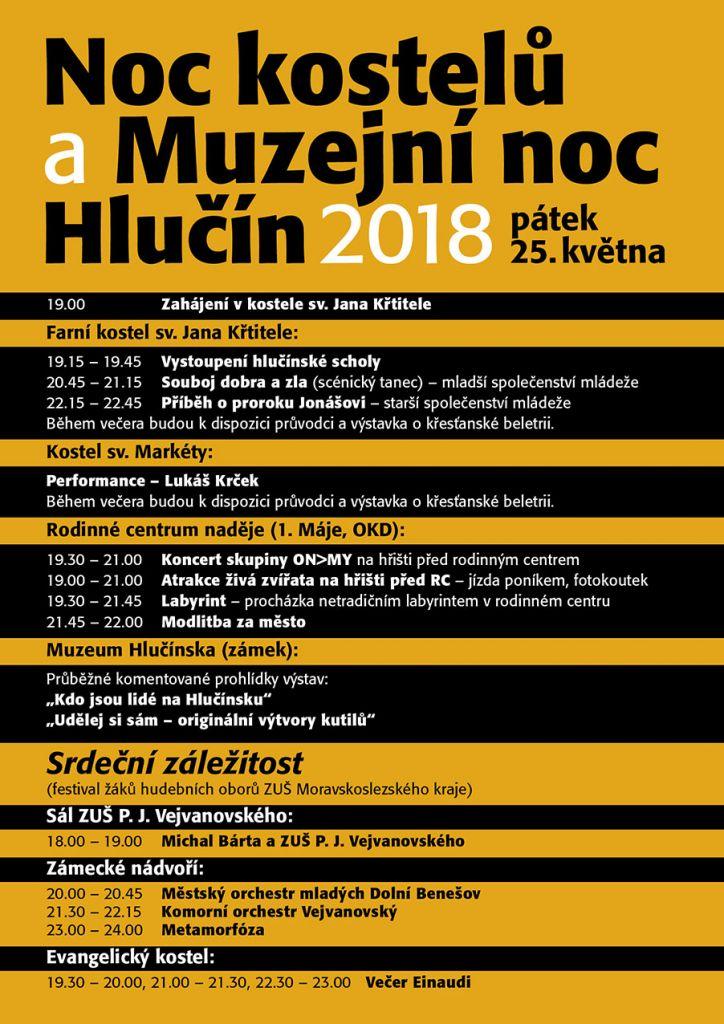 Noc kostelů a muzejní noc Hlučín 2018 1