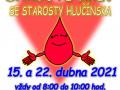 darujte krev se starosty Hlučínska 2021