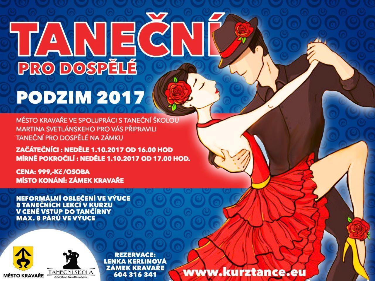 Taneční kurzy na zámku v Kravařích 1